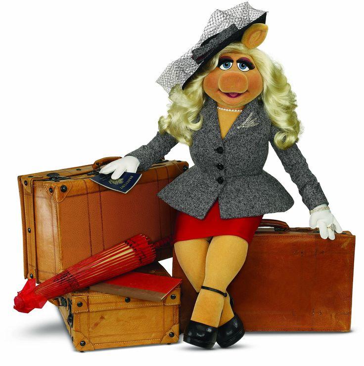 Miss Piggy Travels
